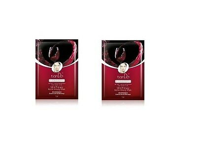2 packs. x Tiande Skin Triumph Wine Therapy Facial Beauty Mask, 1 pc.
