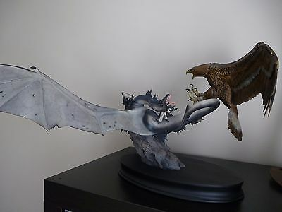 SIDESHOW LORD OF THE RINGS Battle Above the Black Gates - Fell Beast vs Eagle