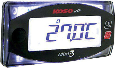 Koso North America Dual Temp Gauge 2212-0487