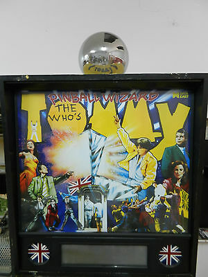 Data East Tommy Pinball Machine Ball Topper Replacement
