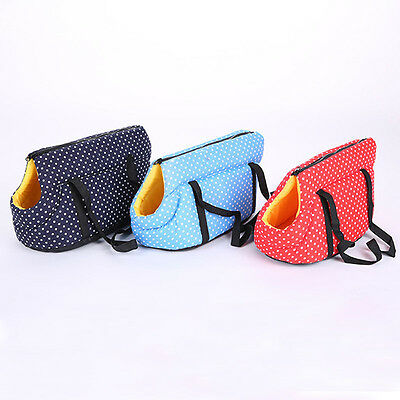 Small Pet Carrier Purse Dog Cat Travel Bag Puppy Outdoor Handbag Portable Tote