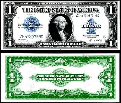 1923 $1~~Large Size ~Silver Certificate Note ~~Crisp Choice Uncirculated~~