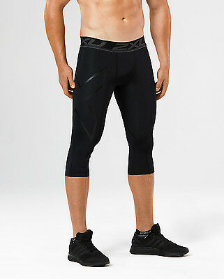 NEW 2XU LKRM Compression 3/4 Tights Mens Compression & Base Layers