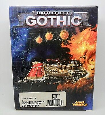 Warhammer Battlefleet Gothic BFG Metal ELDAR VOID STALKER IN ORIGINAL BOX