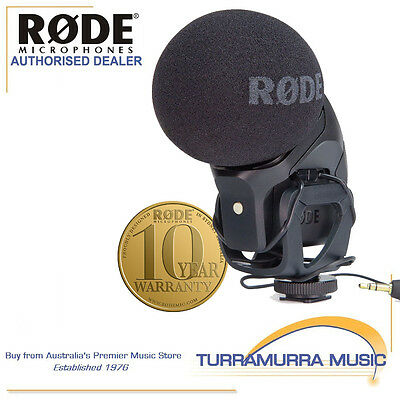 Rode Stereo Videomic Pro On-Camera stereo microphone video mic SVMPR