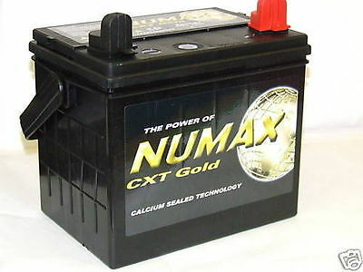 NUMAX CXT 895 12N243 12N24-3 U1R  32Ah Ride-On Lawn Mower Tractor Battery