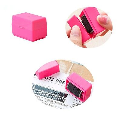 Pro Office Guard Your ID Roller Stamp SelfInking Messy Code Security Hot