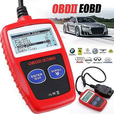 UK Car Fault Code Reader Engine Diagnostic Scanner Reset Tool OBD 2 CAN BUS EOBD