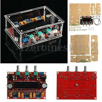 TPA3116D2 50Wx2+100W 2.1 Channel Digital Subwoofer Power Amplifier Board + Case