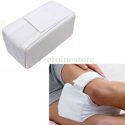 Side Sleeping Knee Support Pillow Aid Arthritis Hips Lower Back Pain Relief Soft
