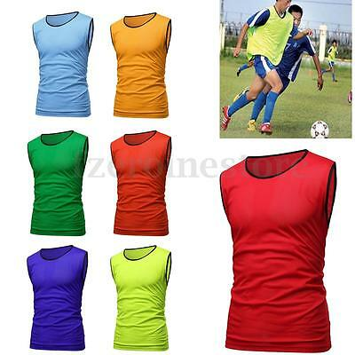 Sport Soccer Football Basketball Team Training Bib Clothes Vest Mesh Adult Youth