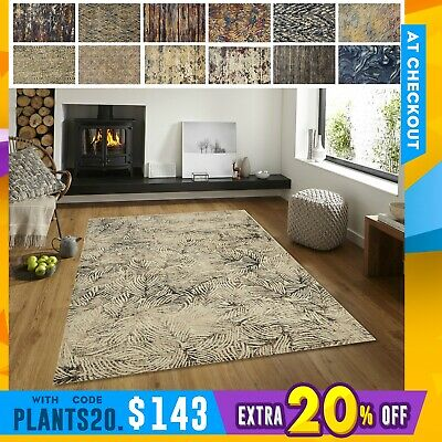 New Floor Rug Modern Soft Touch Unique Colour Blend Trendy Designs Carpet Mat