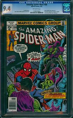Amazing Spider-Man # 180  You Can't be the Green Goblin ! CGC 9.4  scarce book !