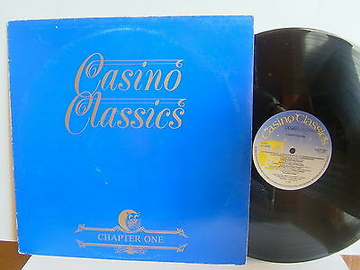 Casino Classics Chapter One CCLP 1001 UK LP 1stP  Tobi Legend Lorraine Silver