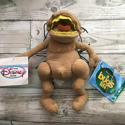 """New With Tags  Disney Store P.T FLEA A BUG'S LIFE PLUSH 10"""" BEANIE SOFT TOY"""