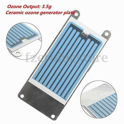 Ozone Ceramic Plate 3.5g Ozonizer Air Water Ozone Generator Cleaner Accessory