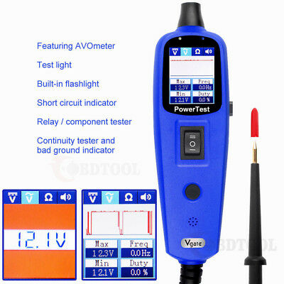 12V Power Circuit Tester Electrical System Test Diagnostic Tool Power Scanner