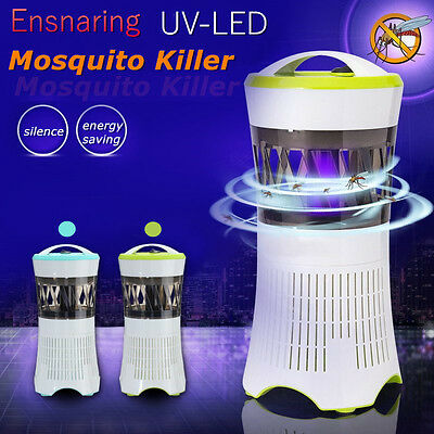 LED Flying Insect Killer Electric Zapper Bug Mosquito Fly Wasp Trap Pest Control