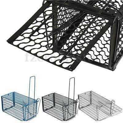 Metal Mouse Live Trap Rat Rodent Snap Catcher Bait Humane Cage Indoor Outdoor