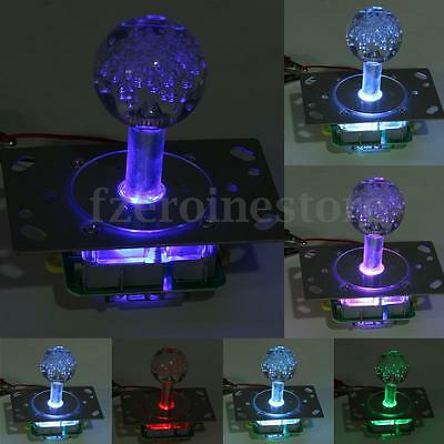 LED Illuminated Arcade Joystick Colorful Replacement Parts USB Encoder to PC