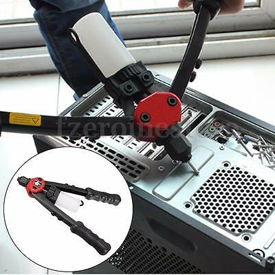 Hand Riveter Gun Tool Kit Heavy Duty Pop Riveting Pliers 3.2/4/4.8/6.0/6.4mm Red