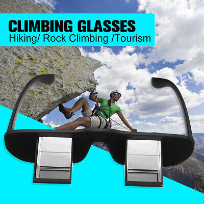 HD Lazy Refractive Climbing Belay Glasses Goggles Prism Spectacles Watching TV