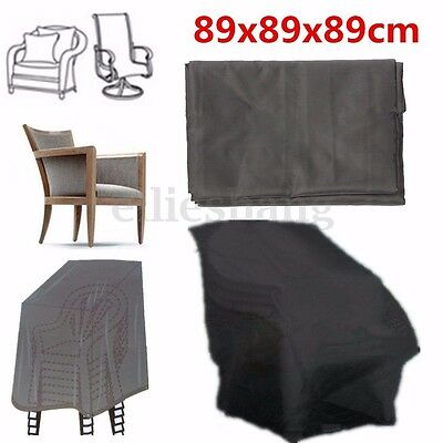 89x89x89cm Waterproof Chair Cover Outdoor Patio Garden Furniture Protecte AU New