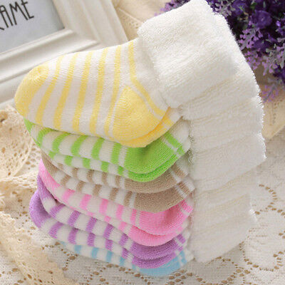 Winter Striped Socks  Warm Children Infant Boys Socks Cotton Newborn Sock