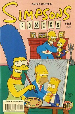 Simpsons Comics # 165 Near Mint (NM) Bongo Comics MODERN AGE