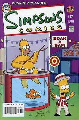 Simpsons Comics #  67 Near Mint (NM) Bongo Comics MODERN AGE