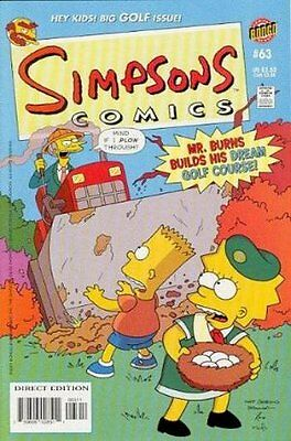 Simpsons Comics #  63 Near Mint (NM) Bongo Comics MODERN AGE