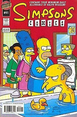 Simpsons Comics #  91 Near Mint (NM) Bongo Comics MODERN AGE