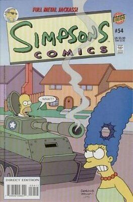 Simpsons Comics #  54 Near Mint (NM) Bongo Comics MODERN AGE