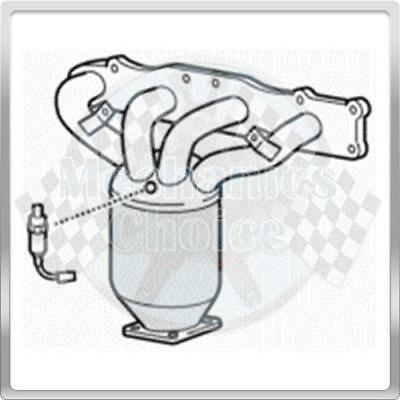 CAT  FOR SUZUKI WAGON R BM91064H TYPE APPROVED CATALYTIC CONVERTER