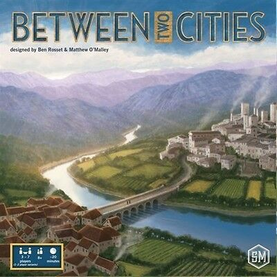 Between Two Cities Board Game - Brand New!