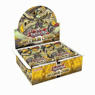 Yu-Gi-Oh! TCG Maximum Crisis Booster Box (24 Booster Packs) - Brand New!