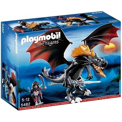 Playmobil Dragons Giant Battle Dragon with LED Fire - Brand New!