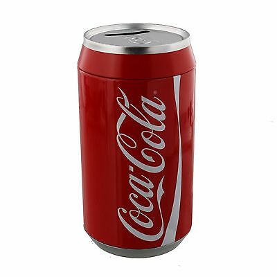 XL Coca Cola Can Tin Money Box Coin Bank Gift Licensed product HM168