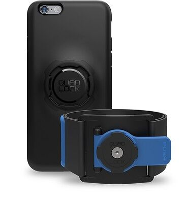 Quad Lock Sports Run / Gym Kit for iPhone 6+ Plus = Phone Case + Sports Armband