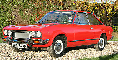 Fiat 124 Sport Coupe. Well known UK RHD Car. Superb Condition