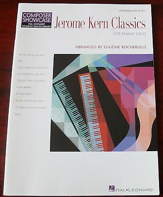 Jerome Kern Classics Song Book (2004) Piano Solo Intermediate