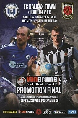 16/17 Halifax Town v Chorley (Vanarama National League Promotion Final)