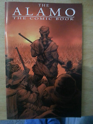 the alamo, the comic book. mint cond