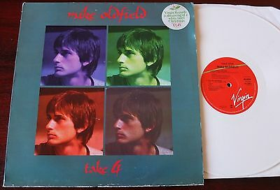 "Mike Oldfield Take Four 12"" Ep White Vinyl Nr Mint Virgin (1978) England"