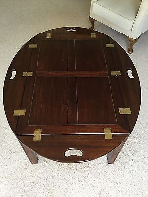 vintage / butler tray / coffee table
