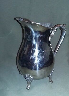 Silver plated pitcher - SRS 2307 -