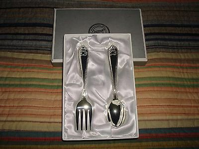 Baby Fork & Spoon Set/by Things Remembered,NEW