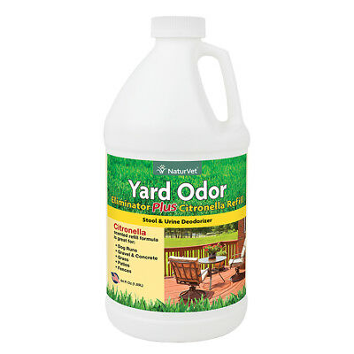 Naturvet ​Yard Odor Eliminator Plus Citronella Stool & Urine Deodorizer 64oz