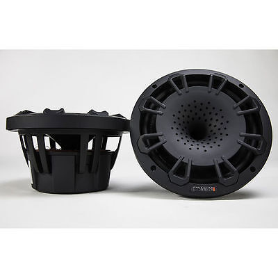 """MB Quart NH1-120B 90W RMS 8"""" Compression Horn Coaxial Marine Stereo Speakers"""