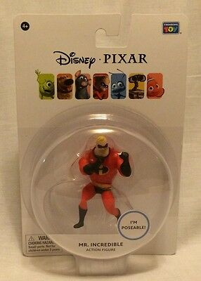 NEW Disney-Pixar I'm Poseable Mr incredible 3 Inch Action Figure The Incredibles